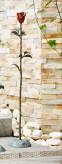 Rose aus Bronze 91cm Dekoration von Rottenecker für Heim und Garten