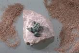 Bronzefigur Frosch mini Gartenfigur Bronze Rottenecker