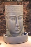 Springbrunnen Buddha 130 Polystone Brunnen inkl. Pumpe