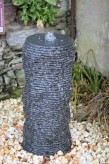 Wasserspiel SET Quellstein Granit Säule 77 Zierbrunnen Gartenbrunnen