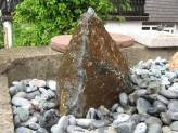 Wasserspiel kpl.SET: Quellstein Diabas inkl. Pumpe | Becken