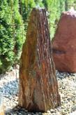 Wasserspiel SET Quellstein Monolith 115cm Schiefer Gartenbrunnen Springbrunnen