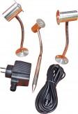 LED 3er Set Magic-Pond 3x3 Watt Strahler Minispot zur Unterwasserbeleuchtung