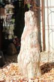 Wasserspiel SET Quellstein Monolith 105cm Marmor norwegisch Pink Gartenbrunnen