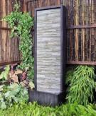 Zierbrunnen Jinha 105 cm Wasserwand Naturstein Optik inkl. Pumpe