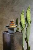 Zimmerbrunnen Mandala 28 Feng Shui Schieferbrunnen inkl. Kugel und Beleuchtung