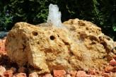 Wasserspiel SET Quellstein Mondstein L60cm Gartenbrunnen inkl. Pumpe