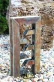 Wasserspiel SET Schiefer Cascade 56cm Gartenbrunnen Kaskade inkl. Pumpe