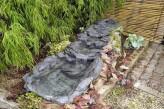 Bachlauf Rio mit Becken inkl. Pumpe Schiefer Optik Polystone Bachlaufschalen