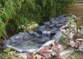Bachlauf Rio mit Becken 3 tlg. Polystone Schiefer Optik Bachlaufschalen