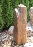 Wasserspiel SET Quellstein Monolith 100 Muschelkalk Gartenbrunnen Springbrunnen