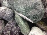 """Ziersteine/Zierkies """"Grundpreis 1,196 €/kg"""" Verde Alpi Ciottoli 60/100 im 25 Kg Sack"""