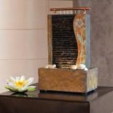 Zimmerbrunnen Guo 41 Feng Shui Schieferbrunnen inkl. Beleuchtung