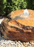 Quellstein Basalt L90cm Gartenbrunnen Springbrunnen Komplettset