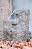 Wasserspiel SET Quellstein Shugan 45cm Granit Bachlauf Gartenbrunnen