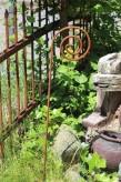 Rosenstab Eisen Edelrost   Rankhilfe Garten Stab Shabby, Landhaus, Cottage & Vintage
