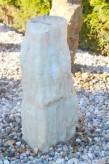 Wasserspiel SET Quellstein Monolith 74cm Onyx Marmor Gartenbrunnen inkl. Pumpe