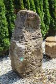 Wasserspiel SET Quellstein Monolith 120cm Muschelkalk Gartenbrunnen inkl. Pumpe