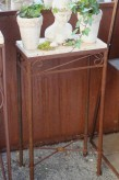 Vintage Eisentisch Edelrost 40x20 | Shabby, Landhaus & Cottage