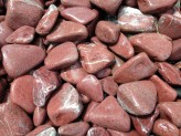 """Ziersteine/Zierkies """"Grundpreis 1,99 €/kg"""" Bordeaux Pebbles, getrommelt 2-4cm im 10 kg Sack"""