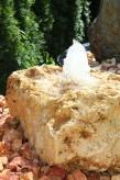 Wasserspiel SET Quellstein Mondstein 30 flach Gartenbrunnen Sprudelstein
