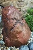 Wasserspiel kpl. SET: Quellstein Sandstein inkl. Pumpe | Becken