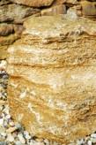 Wasserspiel kpl.SET: Quellstein Muschelkalk inkl. Pumpe | Becken | LED