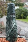 Wasserspiel kpl. SET: Quellstein Marmor artik green inkl. Pumpe | Becken