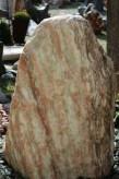 Wasserspiel kpl. SET: Quellstein Marmor norwegisch pink inkl. Pumpe | Becken | LED