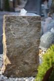 Wasserspiel kpl. SET: Quellstein Muschelkalk inkl. Pumpe | Becken Zierbrunnen