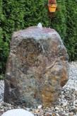 Wasserspiel kpl. SET: Quellstein Quarz Porphyr inkl. Pumpe | Becken