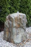 Wasserspiel kpl. SET: Quellstein Porphyr inkl. Pumpe | Becken