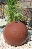 Wasserspiel kpl.SET: Quellstein Sandstein Kugel 50 inkl. Pumpe Becken