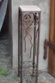 Vintage Eisentisch Edelrost 20x20x90 | Shabby, Landhaus & Cottage