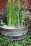 Weinfass klein inkl. Nebler Brunnen Biotop Mini-Teich Wasserspiel